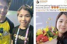 7 Potret keakraban Kevin Sanjaya dan Ng Weng Chi
