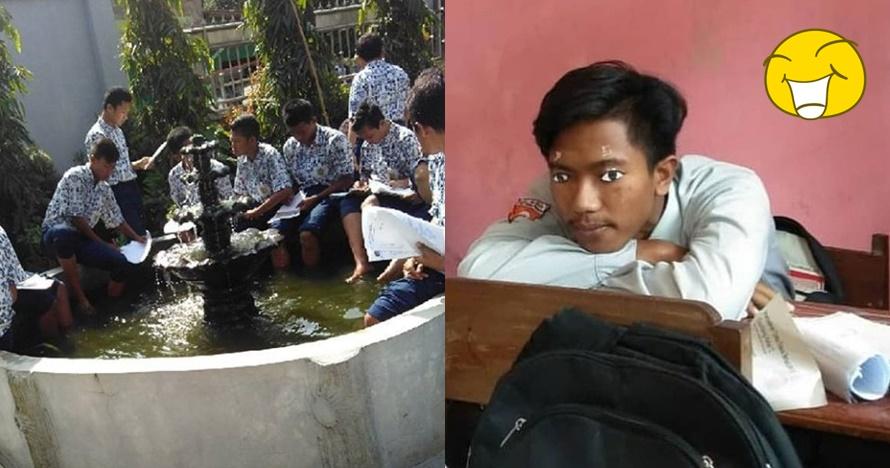 11 Kelakuan nyeleneh pelajar Indonesia ini gokilnya nampol abis