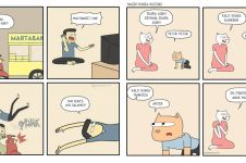10 Komik strip lucu kehidupan ibu & anak, bikin ingat masa kecil