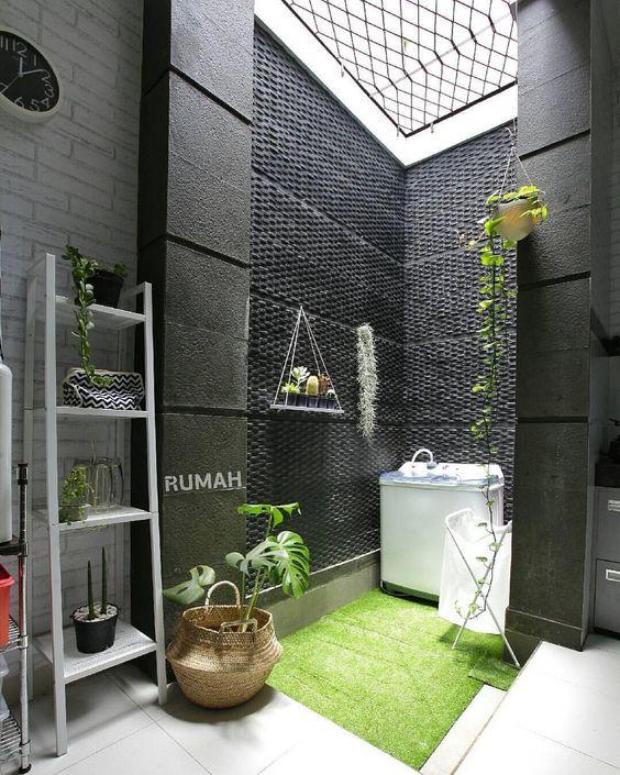 15 Desain Ruang Cuci Jemur Minimalis Buat Rumah Mungil