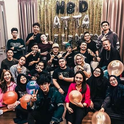 15 Momen kejutan ulang tahun Atta Halilintar, mobilnya nabrak