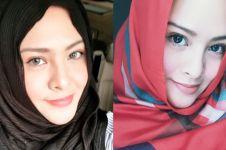 10 Potret Audy Item kenakan hijab, tetap memesona