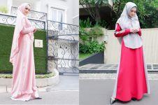 10 Inspirasi gaya hijab syar'i Mulan Jameela ini bisa kamu tiru