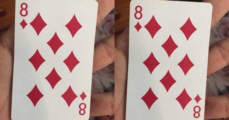 Ternyata di kartu 8 wajik ada nomor tersembunyi, bisa temukan?
