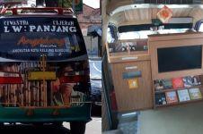 Angkot di Bandung ini punya fasilitas mewah, bikin betah