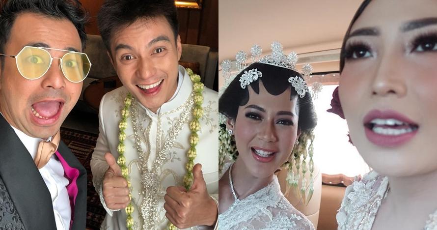 Gaya 10 seleb hadiri akad nikah Baim Wong dan Paula Verhoeven