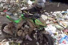 Viral motor Rp 322 juta dibuang ke tempat sampah, ini faktanya
