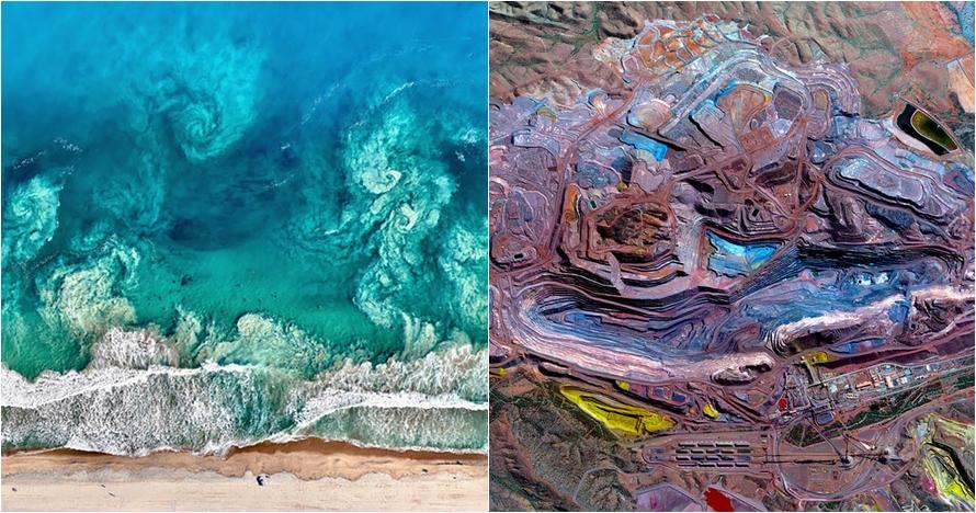 25 Foto keindahan bumi dilihat dari angkasa ini bikin takjub