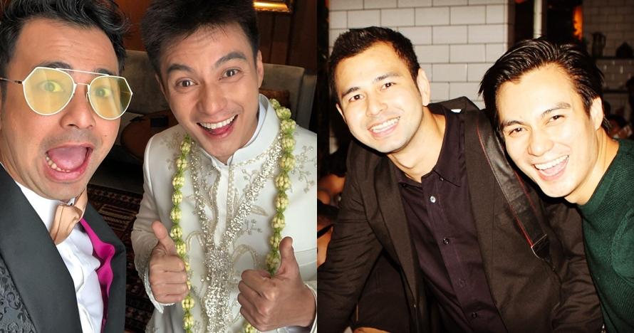 10 Foto kedekatan Baim Wong & Raffi Ahmad, sahabatan dari kecil