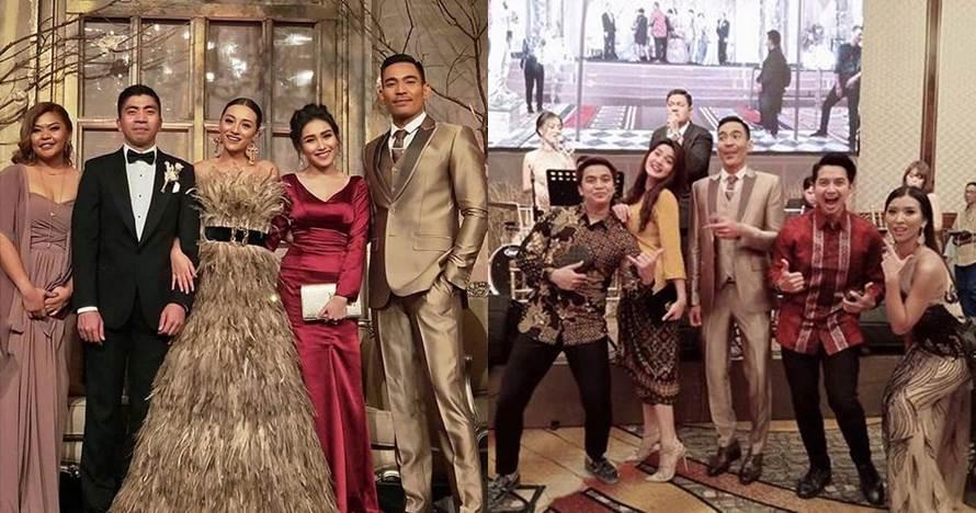 Gaya 10 seleb hadiri pernikahan Lolita Agustine & Benjamin Pandelaki