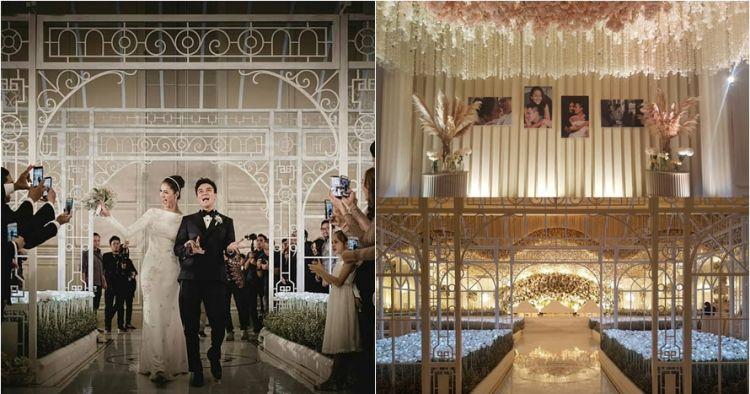10 Foto Dekorasi Resepsi Baim Wong Paula Verhoeven Pen