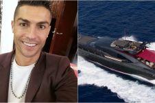 Penampakan 7 kapal pesiar bintang sepak bola dunia, super mewah