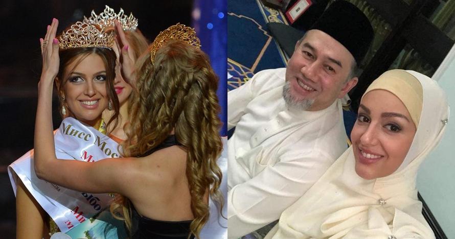 13 Foto Oksana Voevodina, Miss Moscow yang dinikahi Raja Malaysia
