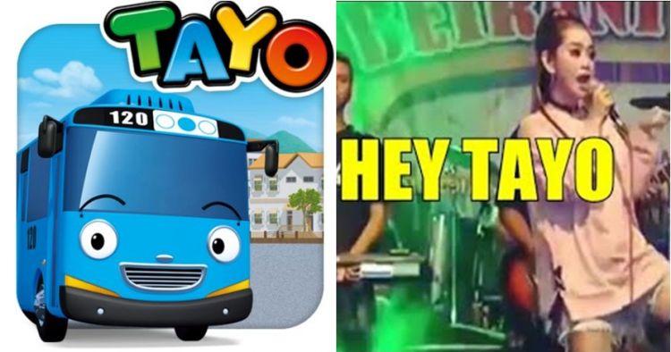 Viral lagu 'Hey Tayo' ala dangdut koplo, bikin ngakak