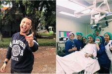 6 Potret Giring terbaring di rumah sakit, jalani operasi pertama