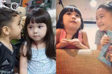 11 Momen kebersamaan Rafathar dan Gempi di usia tiga tahun