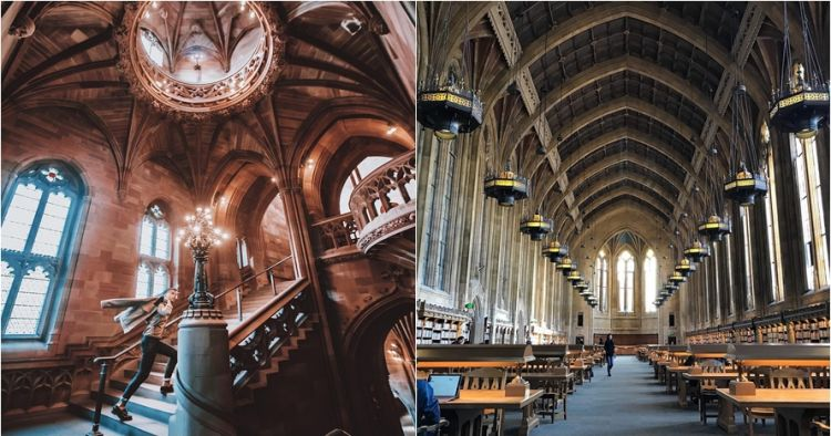 16 Perpustakaan ini mirip di Hogwarts, bikin berimajinasi