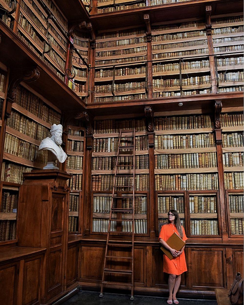 perpustakaan mirip hoghwarts © 2018 brilio.net berbagai sumber