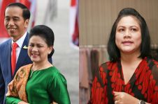 11 Gaya Iriana Jokowi mengenakan sneakers, curi perhatian