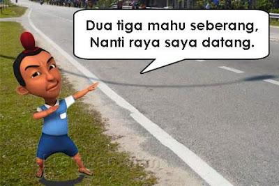 15 Meme lucu pantun Jarjit teman Upin Ipin ini bikin cekikikan