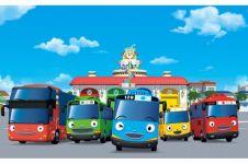 9 Karakter bus dalam serial Tayo yang paling dikenal