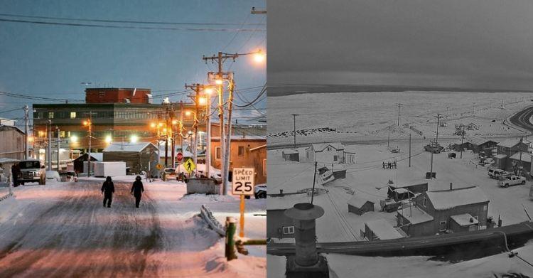 9 Potret Utqiagvik, kota yang tak kena matahari selama 65 hari