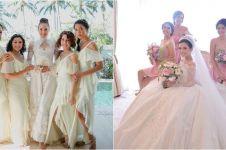 25 Inspirasi gaun bridesmaid di pernikahan seleb, bisa kamu tiru