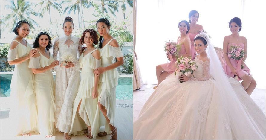 25 Inspirasi Gaun Bridesmaid Di Pernikahan Seleb Bisa Kamu Tiru