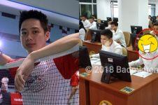 Atlet badminton ikut tes CPNS, tingkah Kevin bikin salah fokus