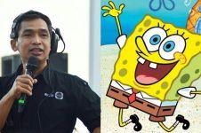 7 Fakta Ade Kurniyawan, pengisi suara karakter SpongeBob