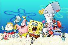 24 Karakter di film kartun SpongeBob SquarePants, unik semua