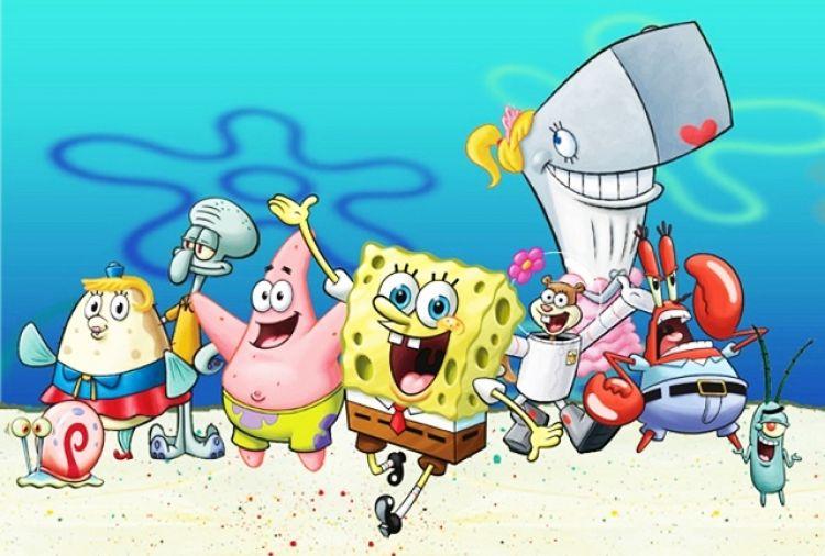 24 Karakter Di Film Kartun Spongebob Squarepants Unik Semua