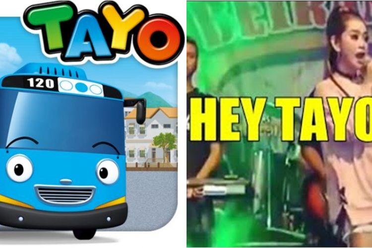Selain Hey Tayo, ini 5 lagu anak yang dijadikan dangdut koplo