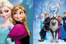 12 Fakta unik film Frozen ini mengejutkan