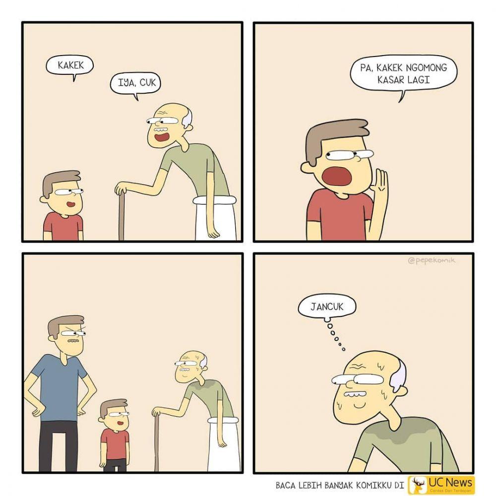 komik strip salah paham © 2018 berbagai sumber