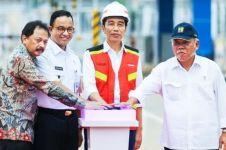 17 Ruas tol ini di resmikan Jokowi pada 4 tahun eranya