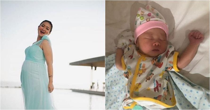 10 Foto Kamala Madeline Pandrya, anak Cici Panda yang baru lahir