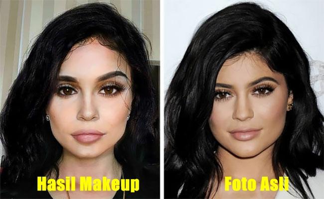 15 Makeup mirip artis ini bikin melongo, sama persis
