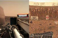 15 Foto editan saat NASA landing di Mars ini bikin ngakak