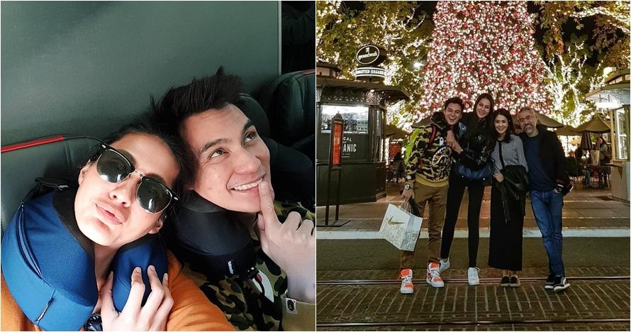 12 Momen bulan madu Baim Wong dan Paula Verhoeven di AS