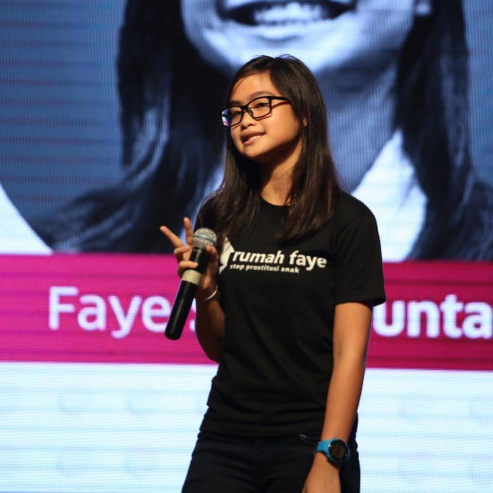 Faye Simanjuntak anak Maruli  © 2018 brilio.net