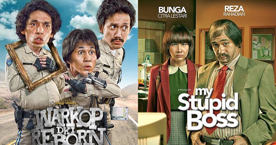 10 Film Indonesia bergenre komedi paling laris