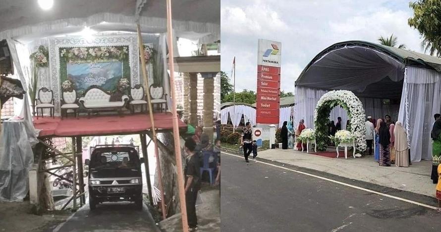 14 Pernikahan di tempat nggak biasa ini cuma ada di Indonesia