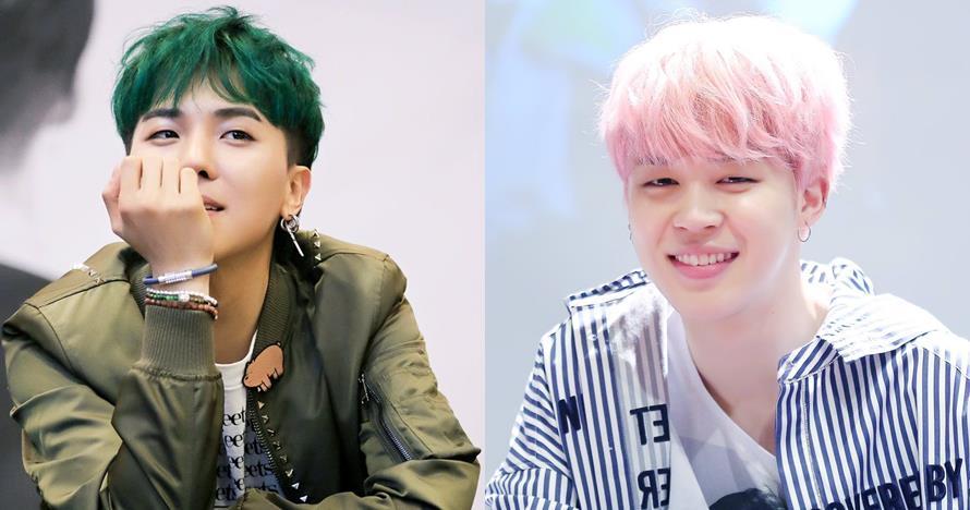 12 Gaya rambut idol K-Pop ini nyentrik, dari pink hingga hijau