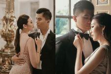 7 Potret kemeriahan pernikahan Clarissa Wang dan Jusup Maruta