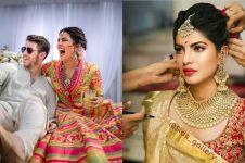 10 Foto pernikahan Priyanka Chopra & Nick Jonas, pesta kembang api