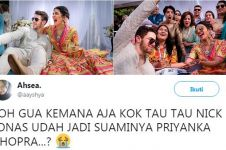 15 Cuitan lucu patah hati karena Nick Jonas menikah ini bikin baper