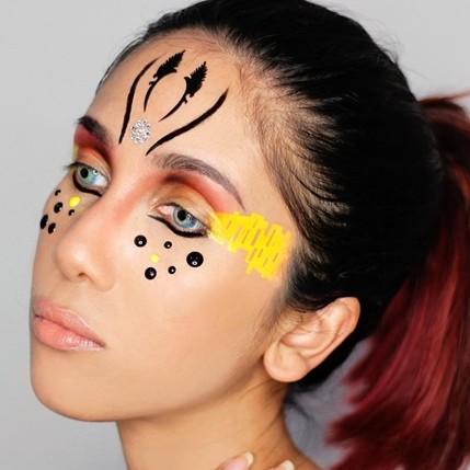 20 Inspirasi makeup mata ala Suhay Salim, beri corak beda