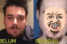 8 Transformasi wajah pria usai face off ini bikin pangling