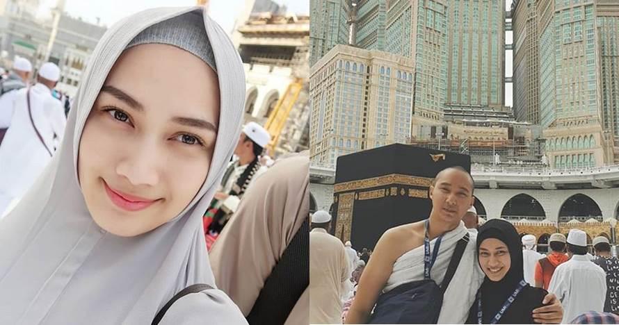 11 Momen romantis bulan madu Melody eks JKT48 di Arab Saudi
